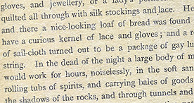 Detail of Smugglers and Smuggling - Strange Doings p.3