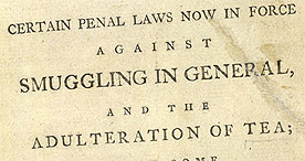Detail of Advice to the Unwary - Title Page