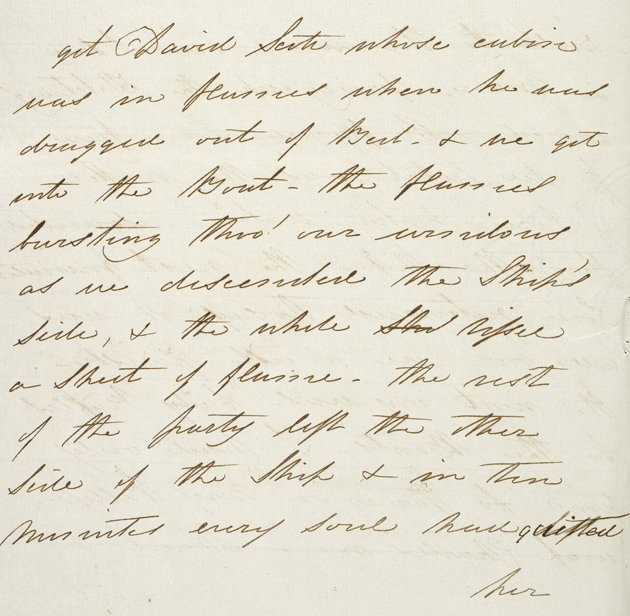 Exfract from a letter from Lady Sophia Raffles to Maryanne Flint
