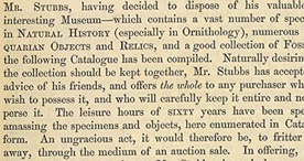 Detail of Catalogue of Valuable Specimens - Introduction p.3