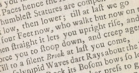 Detail of The Genuine Works of Charles Cotton - Danger p.283