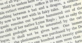 Detail of The Heroine of Lyme Regis - Fairy Tale Creature p.14