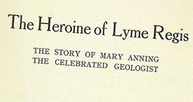 Detail of The Heroine of Lyme Regis - Title Page