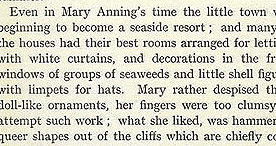 The Heroine of Lyme Regis - Tourism p.5