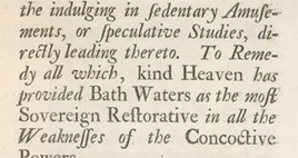 Detail of Treating the Gout - Preface (5)