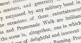 Detail of Visitor's Handbook to Cheltenham - Delightful p.21