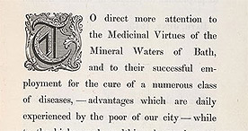 Detail of Five Minutes Advice on the Bath Waters - Preface