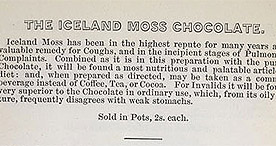 Five Minutes' Advice - Advert for Iceland Chocolate