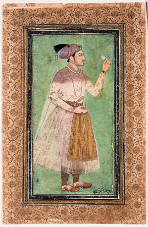 Portrait of Ghazi Jahangir as a youth, Add OR 3854