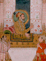 Portrait of Ghazi Shah Jahan (1628-1666)