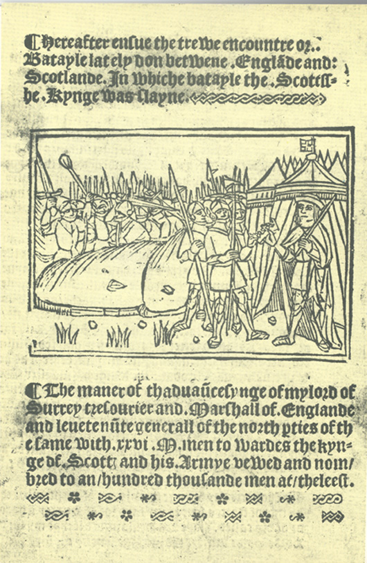 An account of the battle of Flodden
