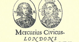 Front page of Parliamentarian newspaper Mercurius Civicus