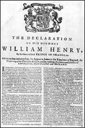 Declaration of His Highness William Henry