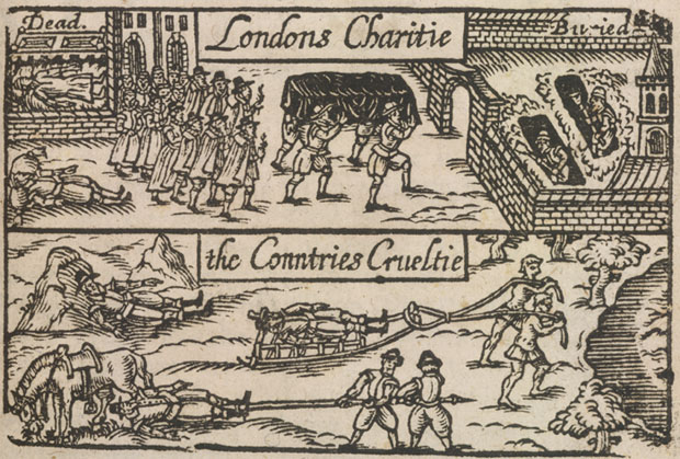 'London's Lamentation' Plague Image