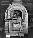 Image of crematorium oven
