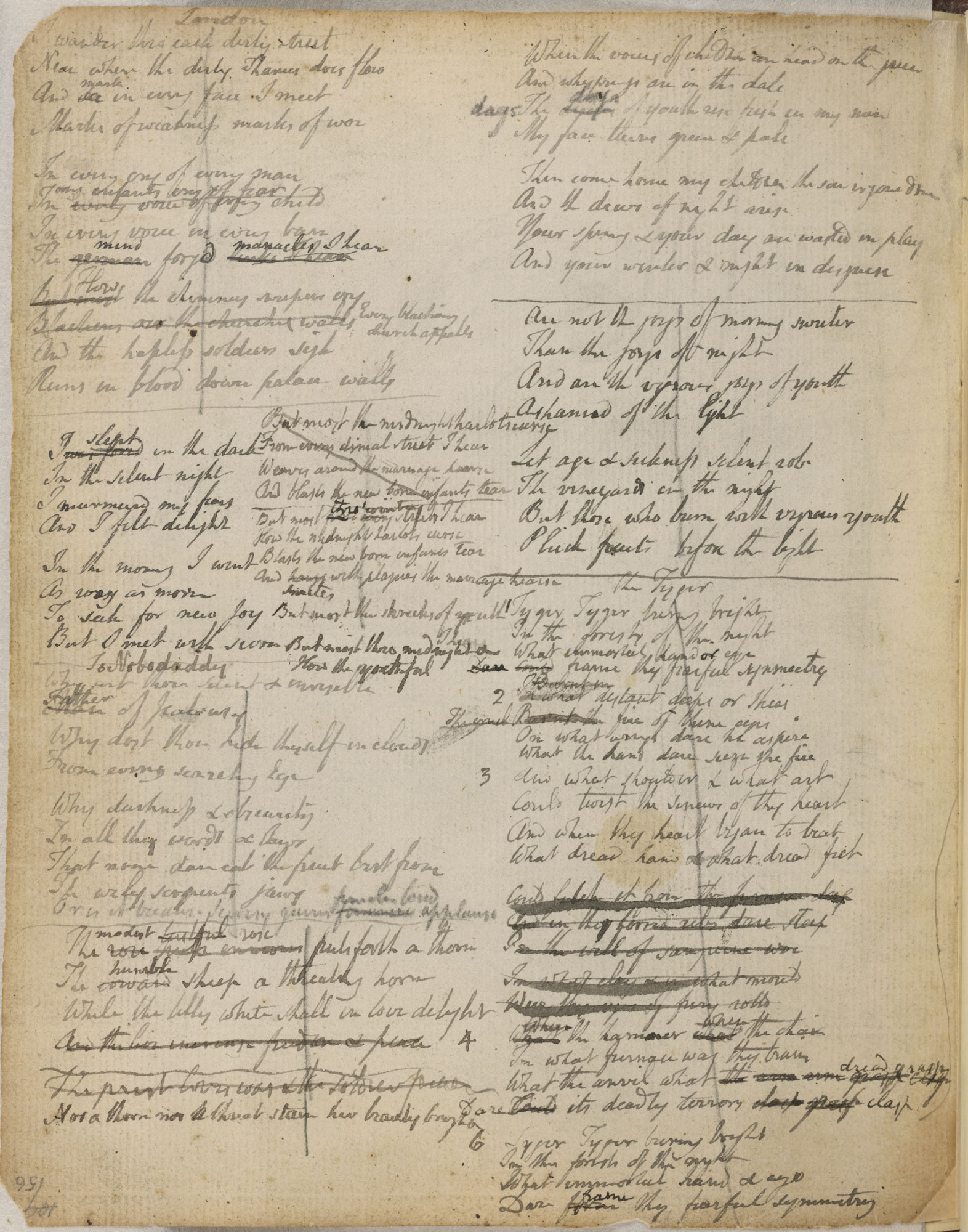 William Blake's Notebook