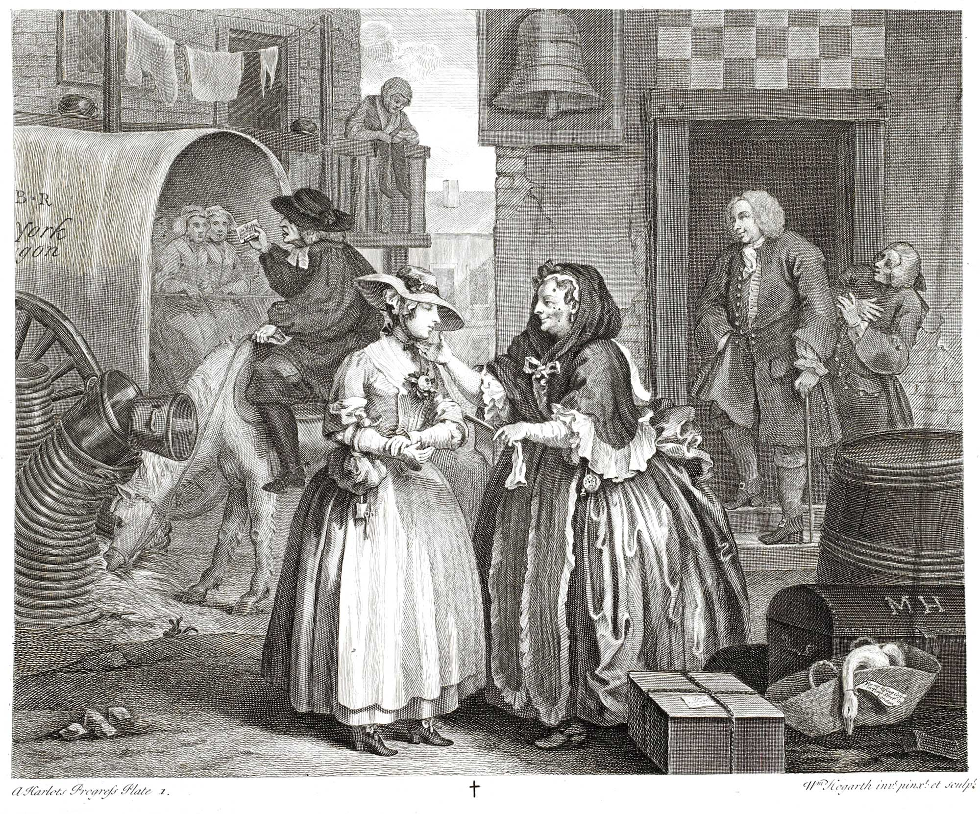 Hogarth, Harlot's Progress