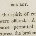 Sir Walter Scott, Rob Roy