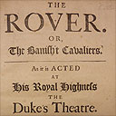 Aphra Behn, The Rover