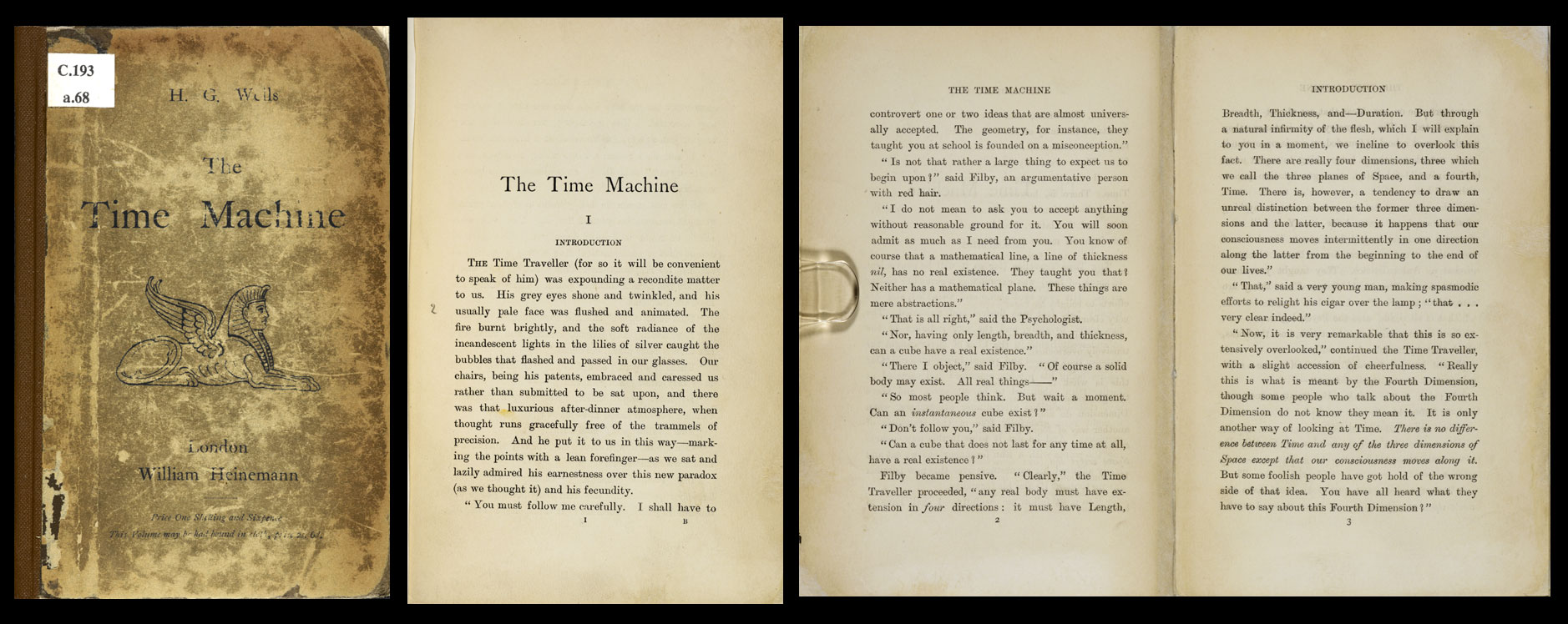 H G Wells, The Time Machine