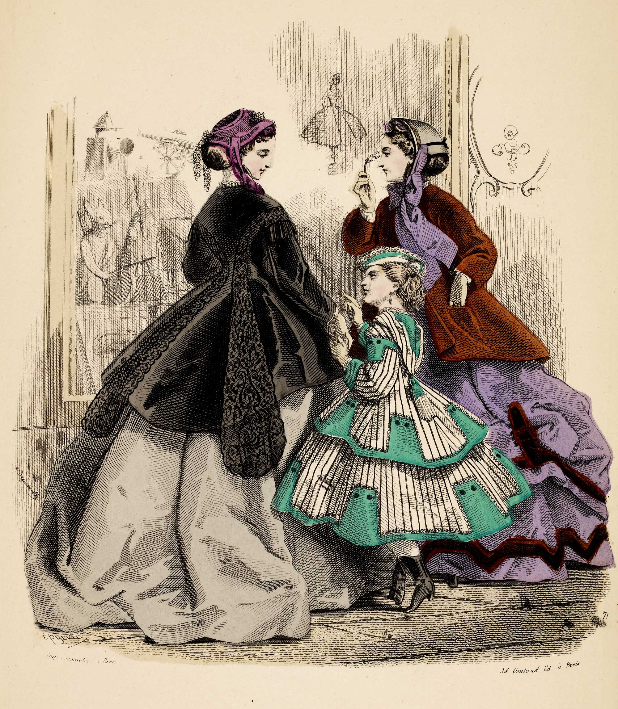 Early Victorian Costume History 1837-1860