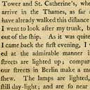 Account of London's street lights