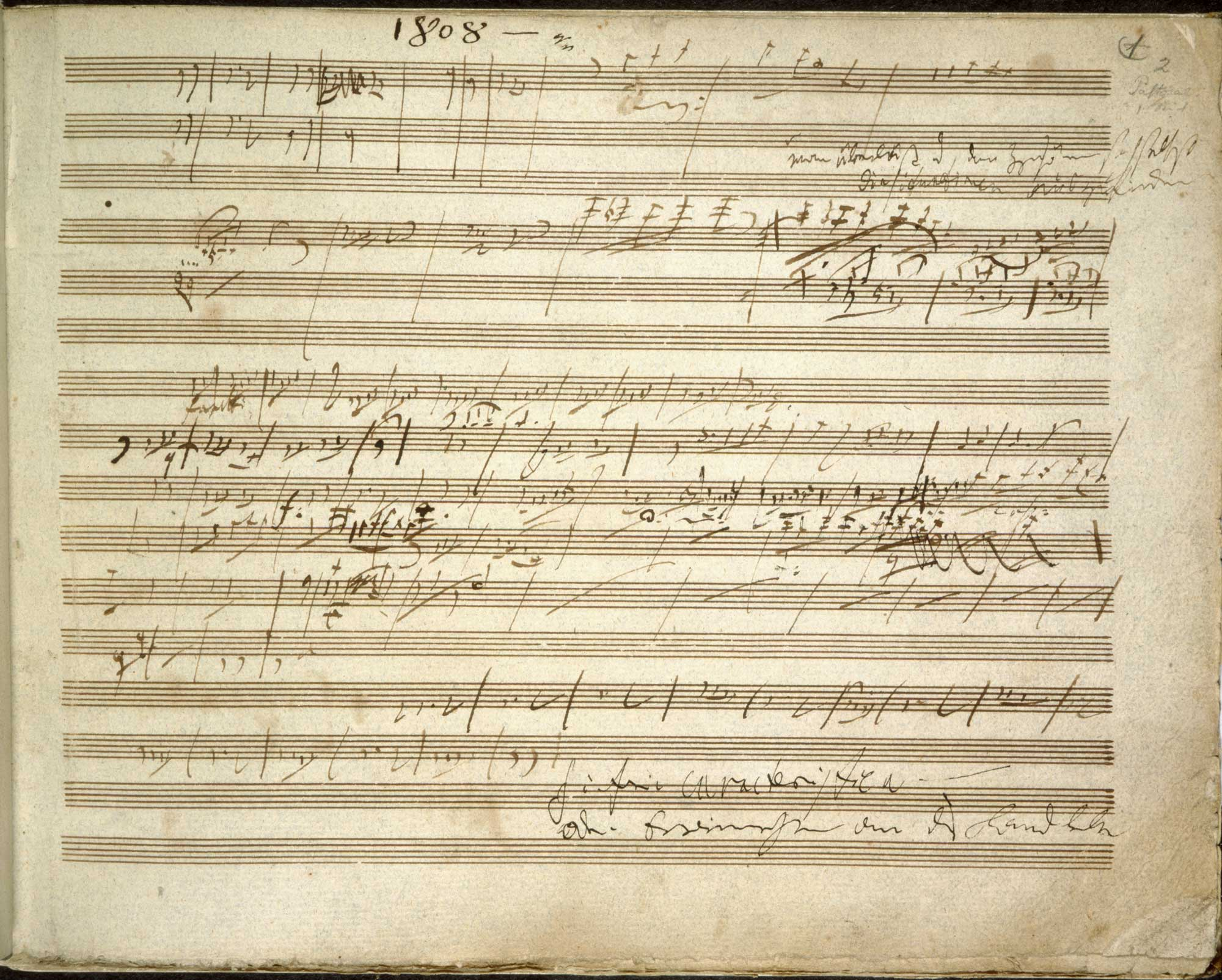 Beethoven's sketches