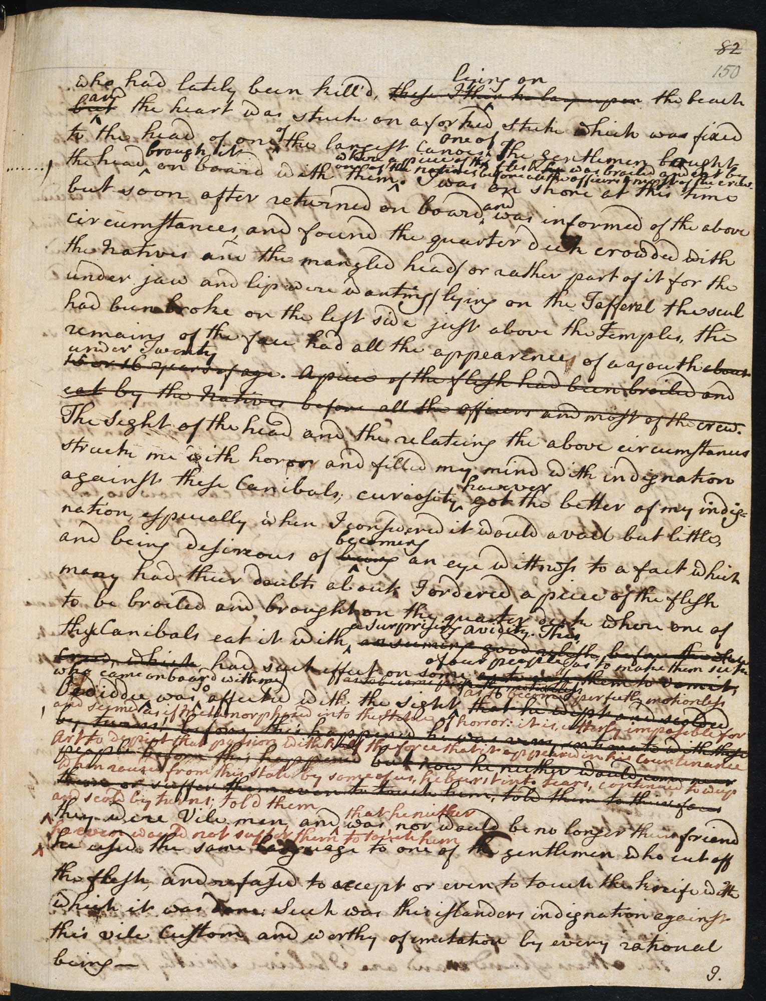 Captain Cook's journal