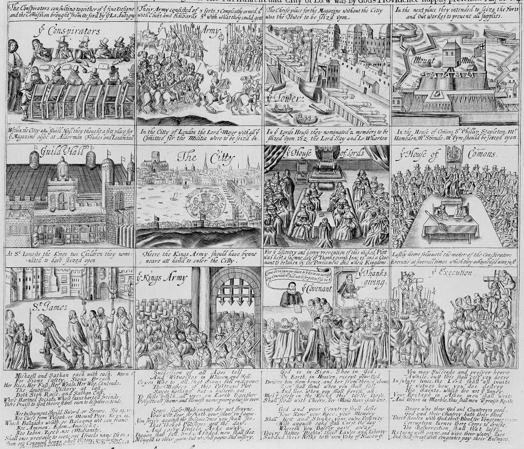 English Civil War scenes
