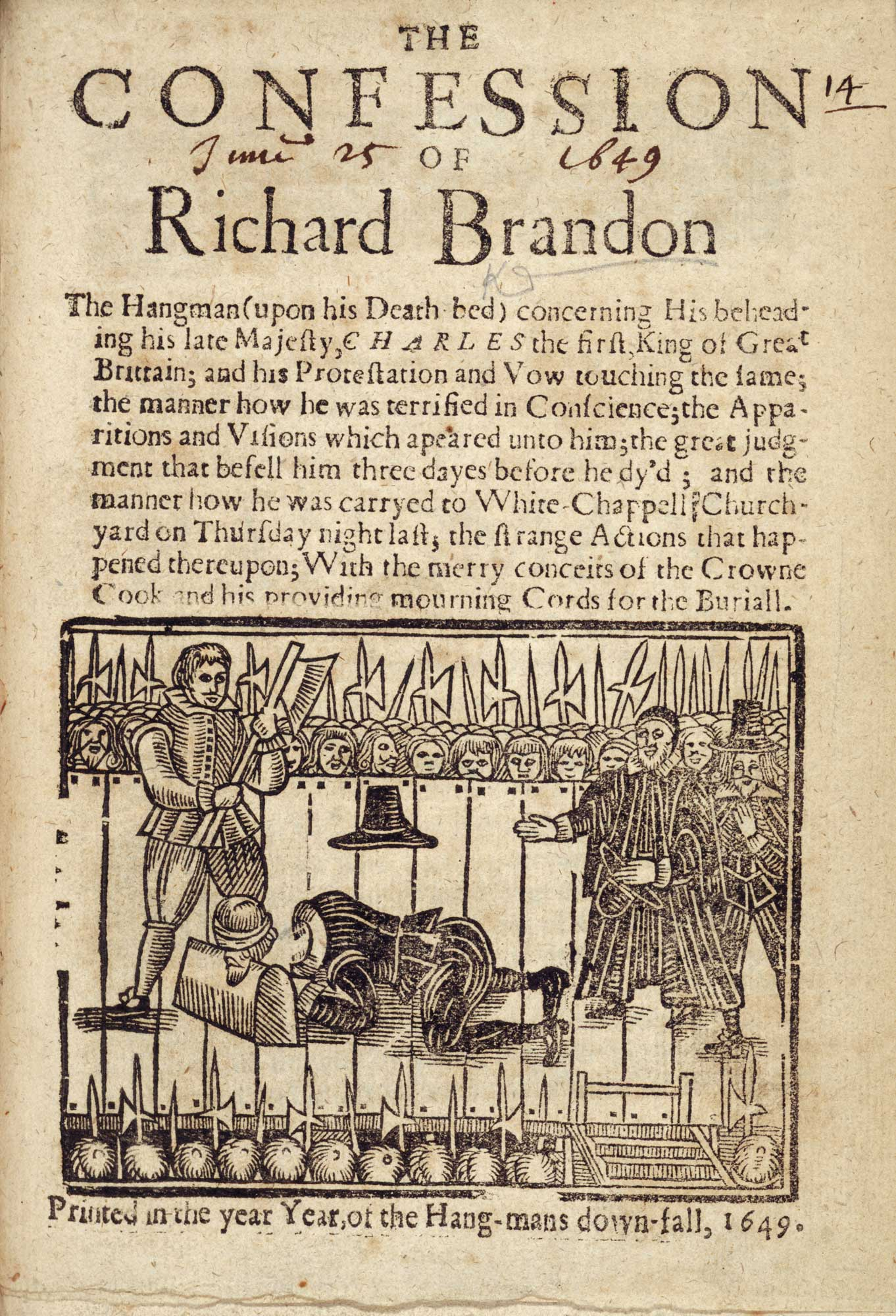 Charles I's executioner