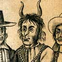 Oliver Cromwell as the Devil