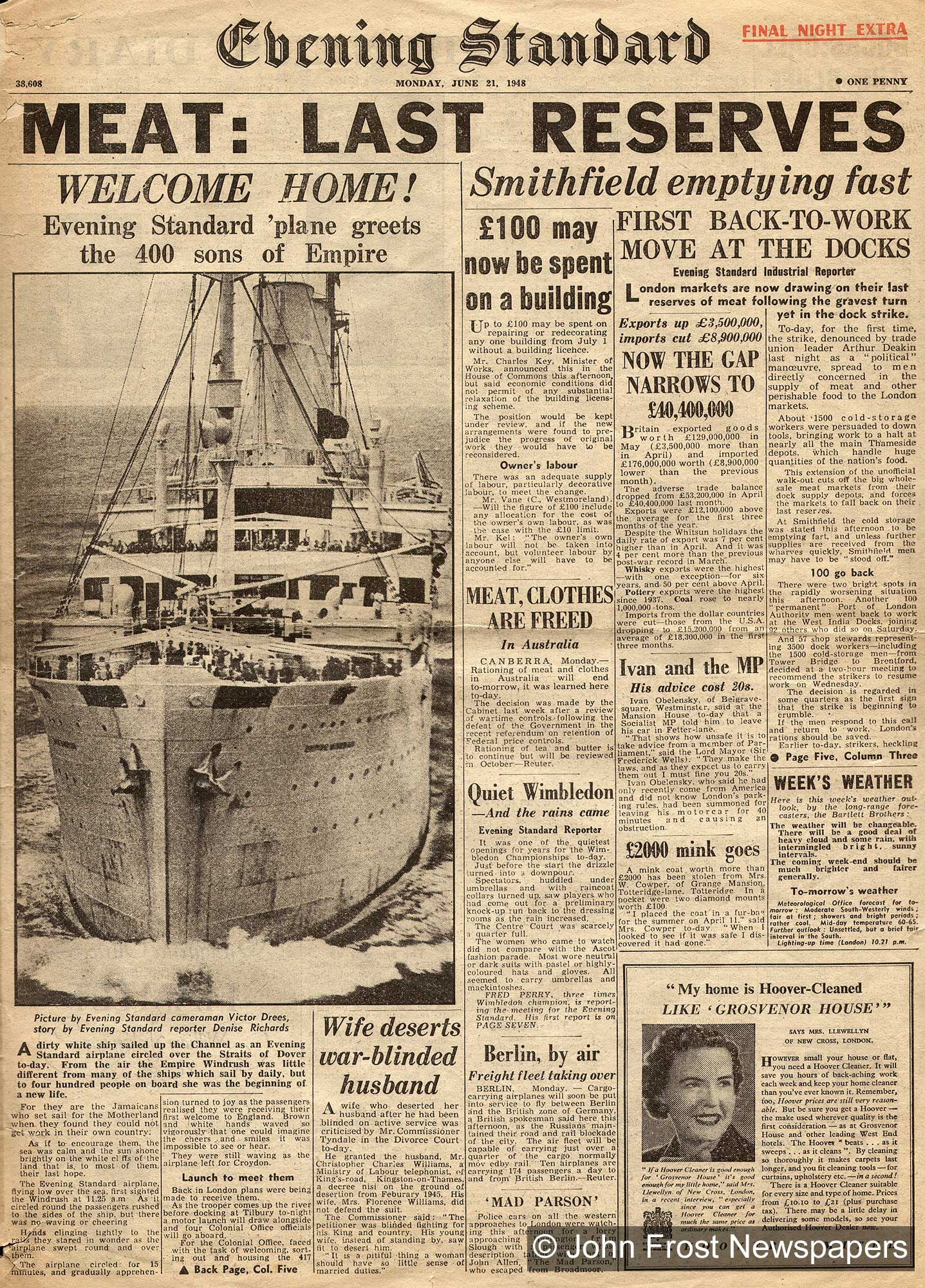 Windrush: post-war immigration