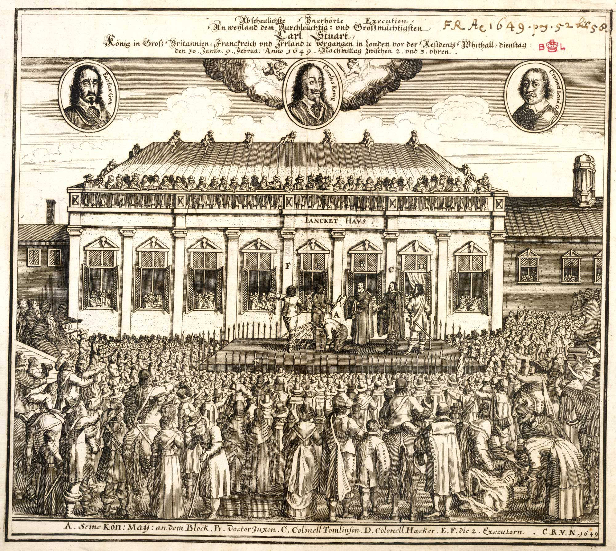 charles i reasons for execution