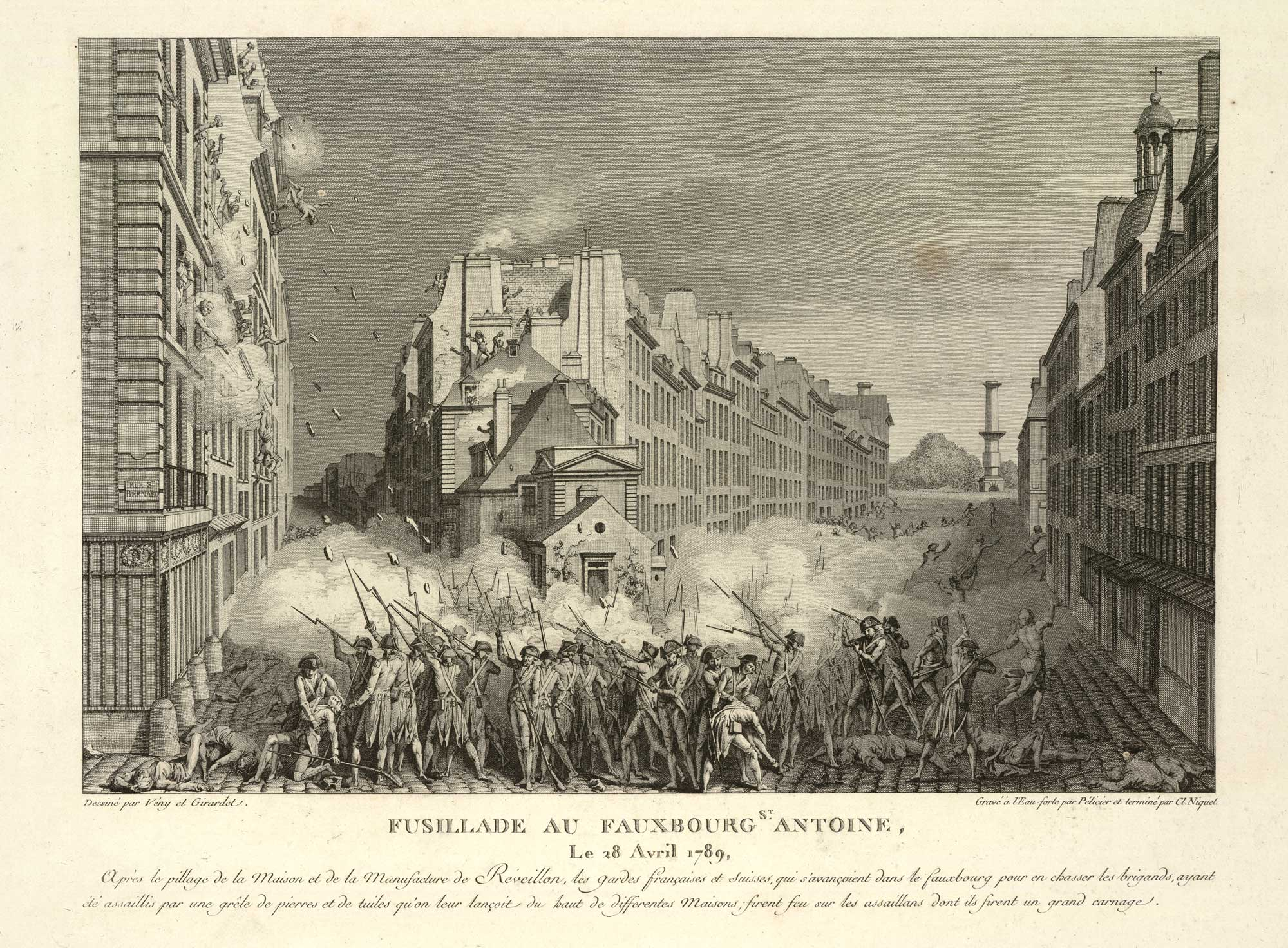 French Revolution: Reveillon Riot