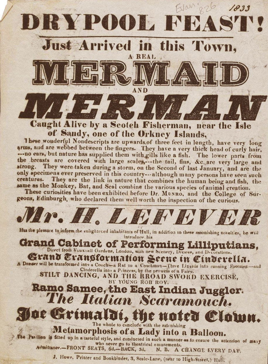 Poster for Living Mermaid