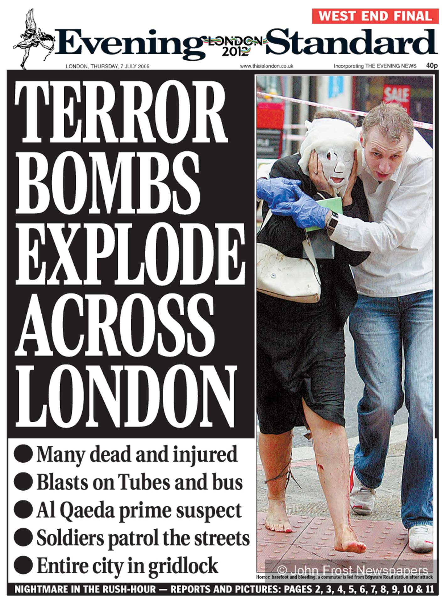 London 7/7 terrorist attacks