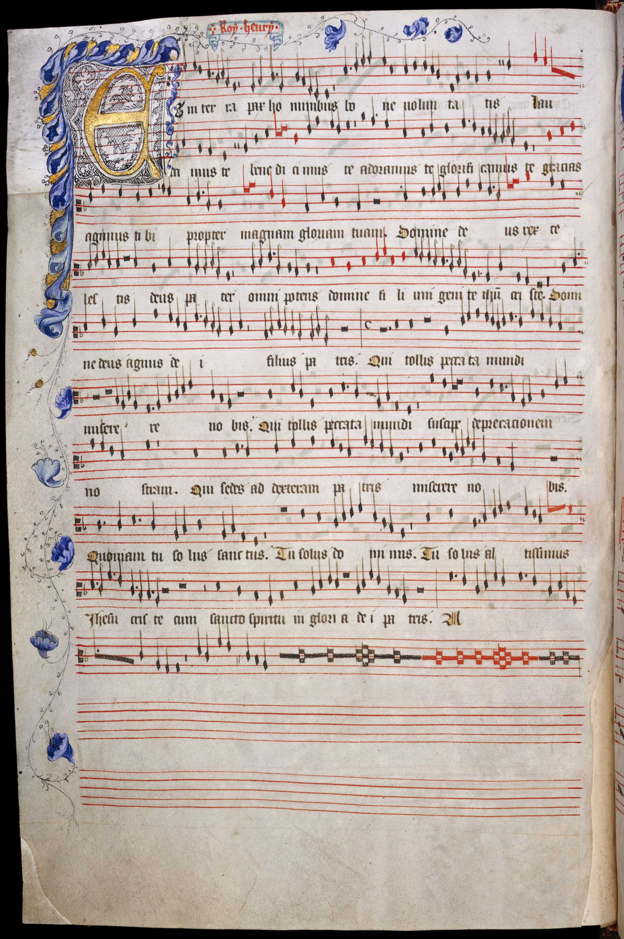 Old Hall manuscript