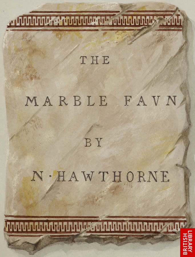 Image of front cover for The Marbe Faun by Nathaniel Hawthorne
