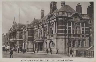 Battersea Town Hall circa 1900