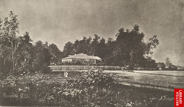 Image of Pushkin family estate