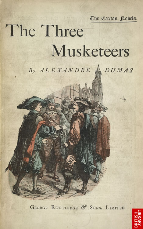 The Three Musketeers - title page