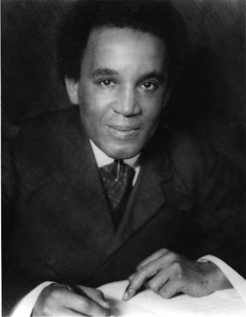 Portrait of Samuel Coleridge-Taylor writing