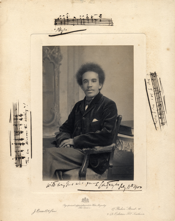 Young Samuel Coleridge-Taylor, 1900