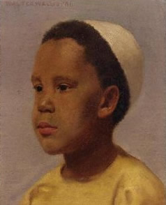 Portrait of Samuel Coleridge-Taylor by Walter Wallis