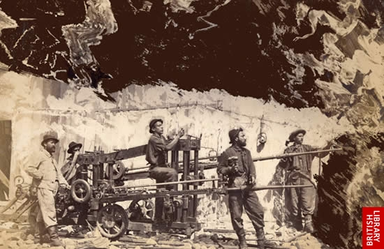 Building the Mont Cenis Tunnel