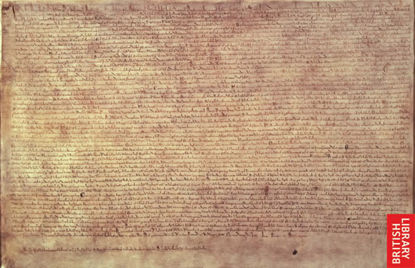 Image from the Magna Carta