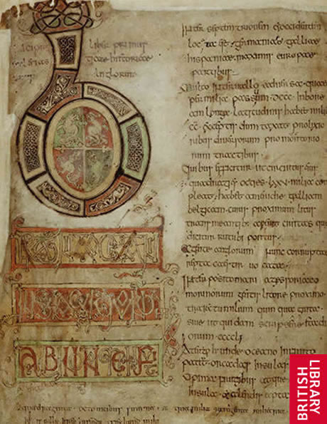Image from Bede's History of the English Church and People