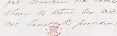 Image of letter to Sidney Herbert from Florence Nightingale