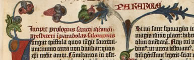Image from the Gutenberg Bible