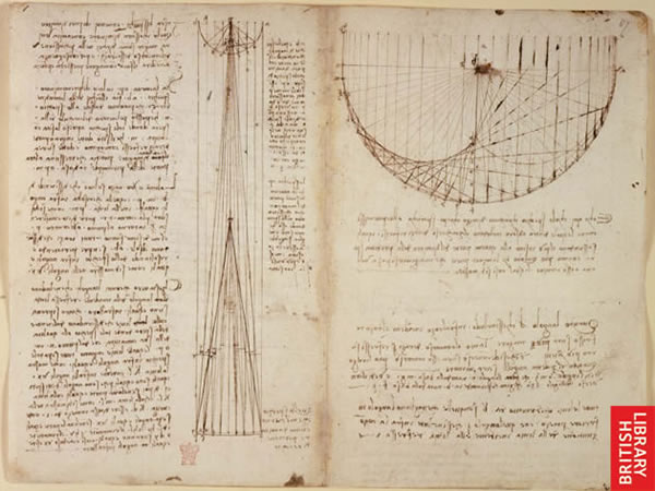 Image from Leonardo's notebook